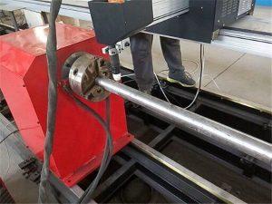 2018 새로운 휴대용 유형 플라즈마 금속 파이프 절단기 기계, cnc 금속 튜브 절단기