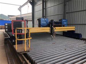4m 경간 15m 가로장을 모는 자동화 된 CNC 플라스마 절단기 두 배