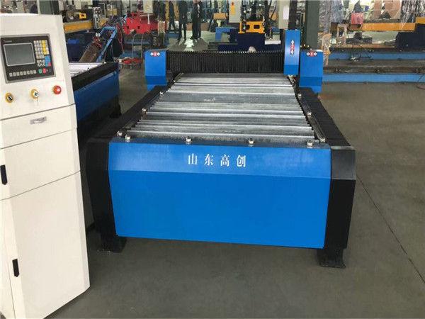 CNC 기계 10mm 판금을 자르는 중국 Huayuan 100A 플라스마