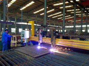 강철 플레이트를위한 미사일 구조물 CNC 플라스마 절단기 및 화염 절단기