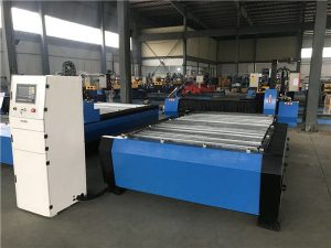 큰 20006000mm CNC 금속 장 관 플라스마 절단 드릴링 기계
